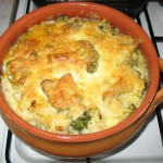 Budinca de conopida si broccoli [Broccoli and cauliflower pudding]