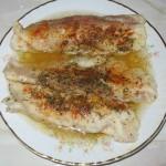 Pangasius cu usturoi si condimente