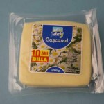 Cascaval pasteurizat cu nitrit de sodiu