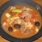 Limba cu masline si praz si Supa aromata cu legume
