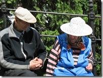 Old folks... Sigishoara (Schäßburg)