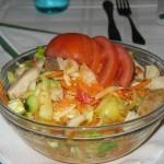 Salata de cruditati cu pui