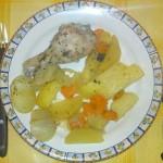 Pulpe de pui cu legume la cuptor a la Dalma