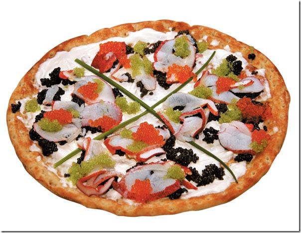 Pizza de 8,300 euro