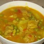 Mancarica de legume cu carne de miel